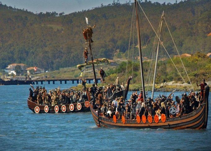 Fiesta vikinga de Catoira