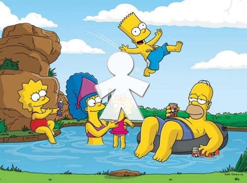 Los Simpsons se van de turismo rural en el último capítulo