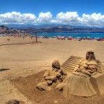 El genio de la playa de las Canteras