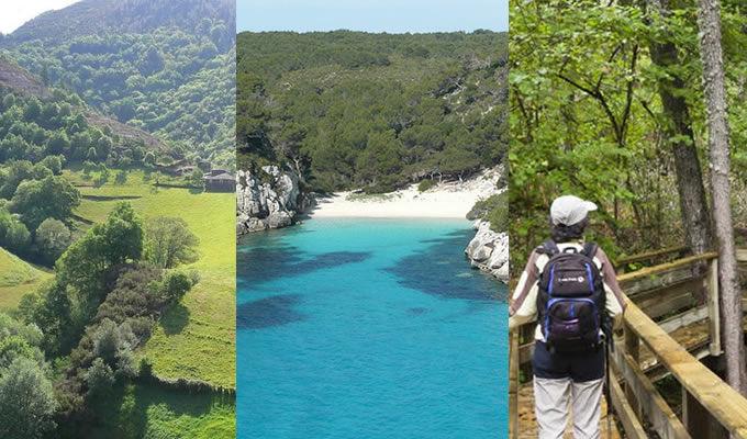 Playas de Menorca, nuevas rutas en Salamanca y la Comarca de los Oscos