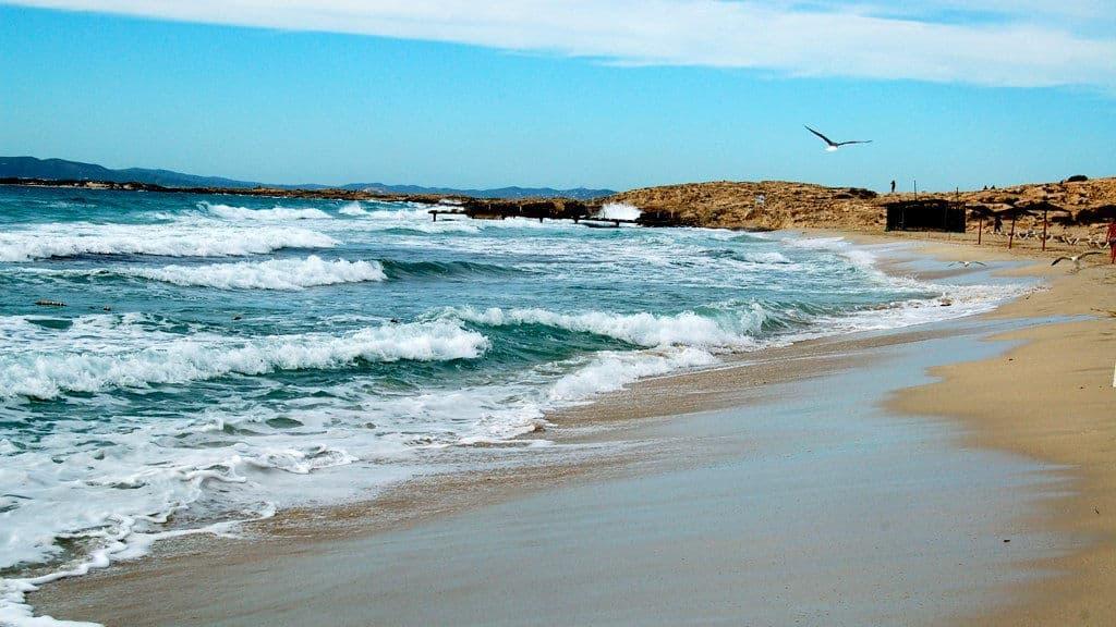 Llegada a Formentera y paseo por Ses Salines