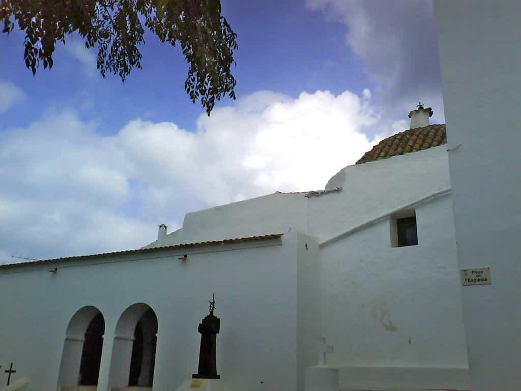 La iglesia de Sant Joan de Labritja