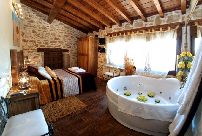 Casa Rural Romantica Jacuzzi Para Parejas