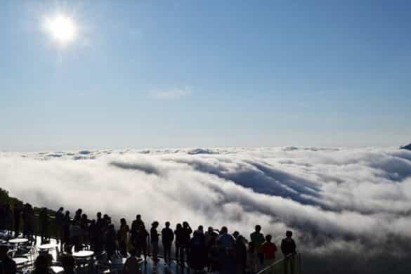 Turismo rural por encima de las nubes