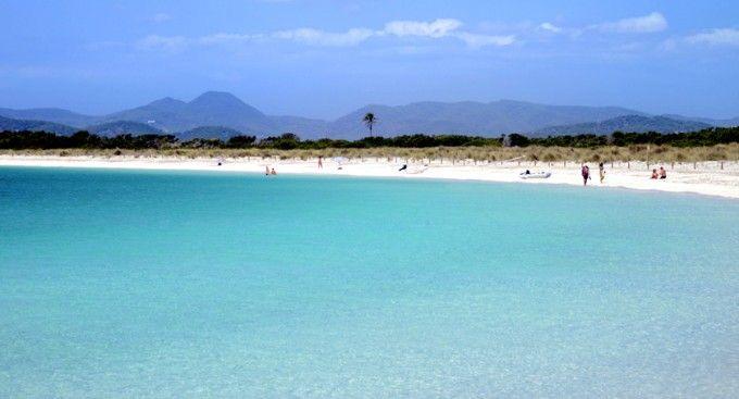 Playa de s'Algar, en Formentera
