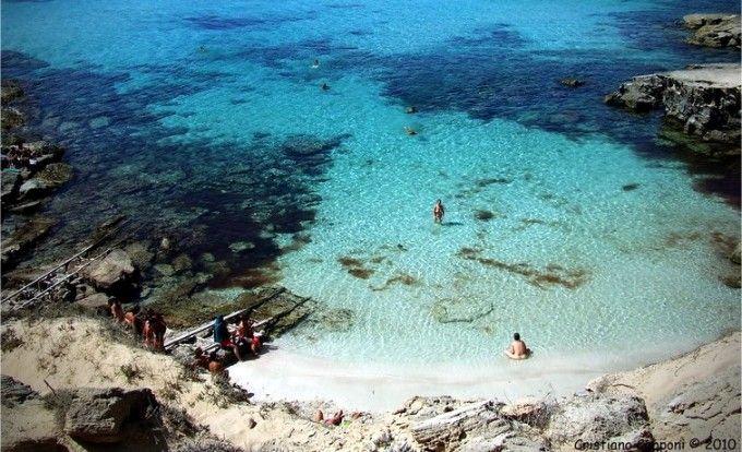 Caló des Mort en Formentera