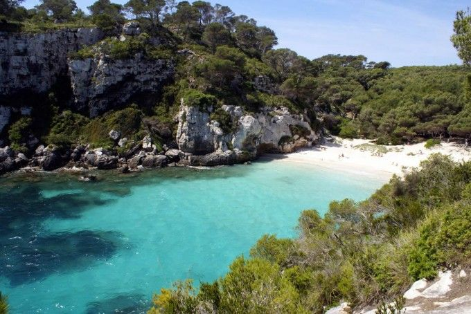 Playa de la Macarelleta en Menorca