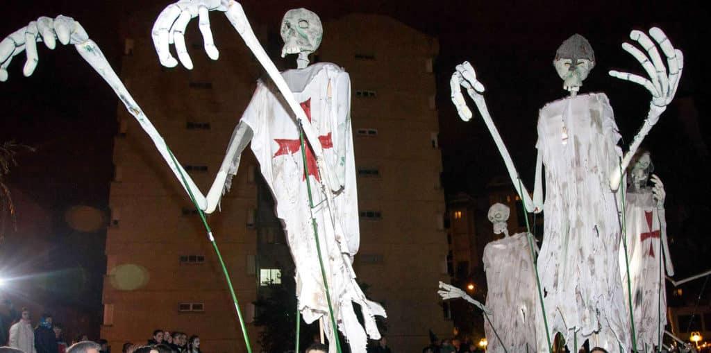 Pasacalles en la Noche de Ánimas de Soria