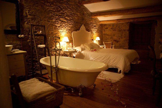 Casa rural romántica Dos Noche en Galicia