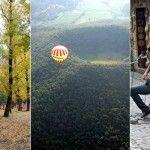 La Garrotxa en globo, Navaluenga rural y el pueblo más divertido de España
