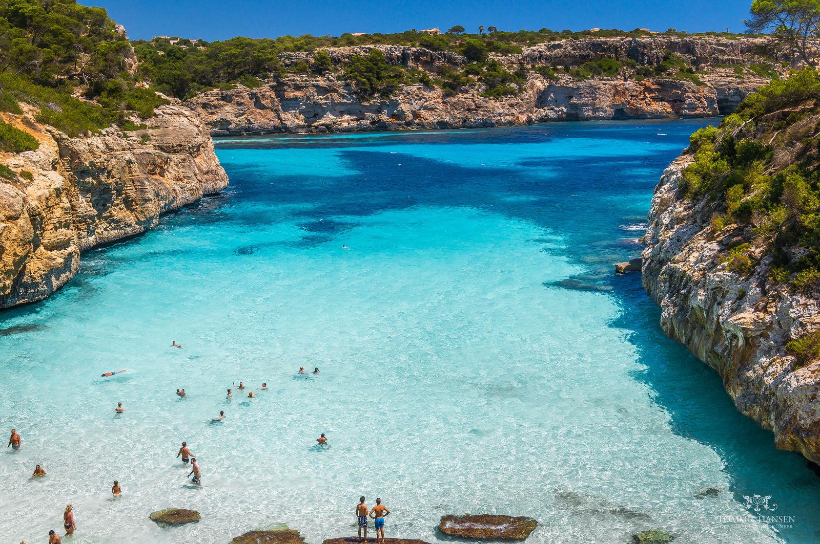 fotos playas mallorca espana