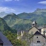 Vista de Canfranc y su entorno.