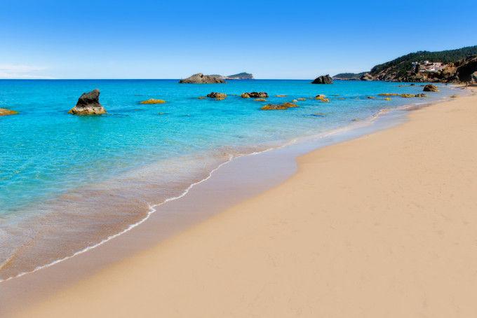 Playa de Aiguas Blanques. Ibiza
