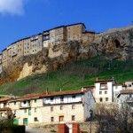 Frías, pueblo medieval en Burgos
