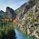 Embalse de la Viaje y Cañón del río Zumeta