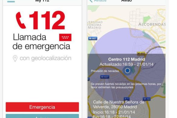 My112: la app de emergencia para viajeros rurales