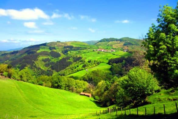 Los preciosos Valles de Malerreka en Navarra