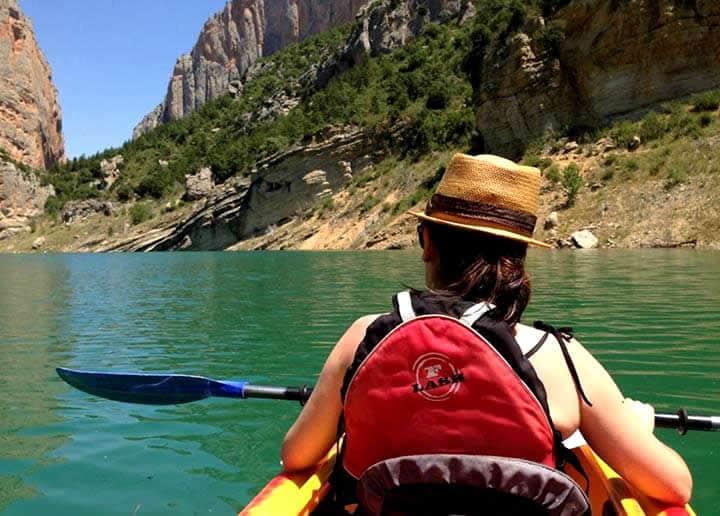 Congost de Mont-rebei en kayak