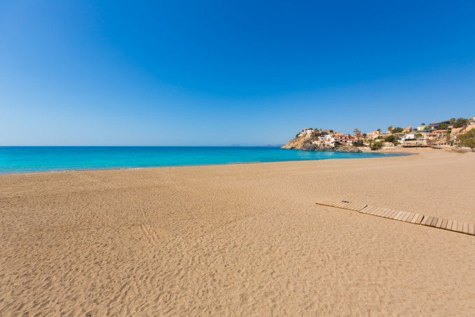 Playa de Bolnuevo. Murcia