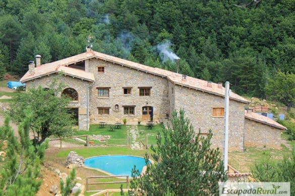 20 casas rurales con piscina y barbacoa