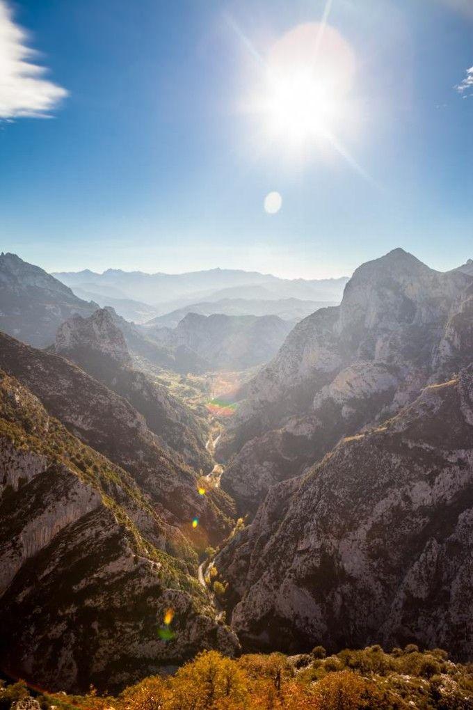 La Hermida, el desfiladero más grande de España