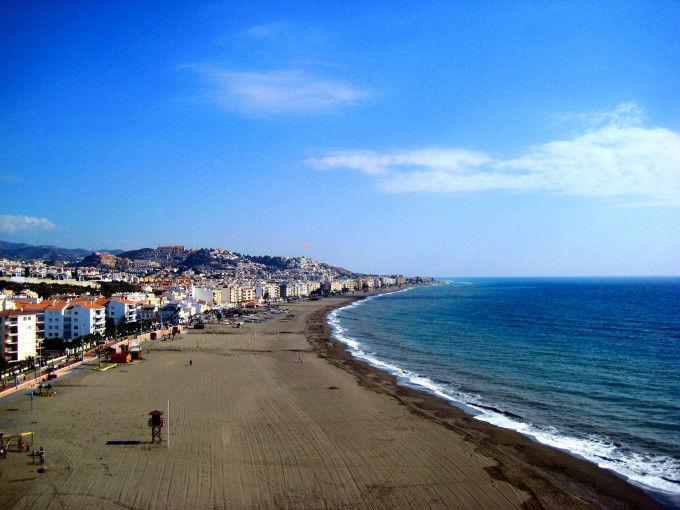 Playa del Rincón de la Victoria (Málaga)