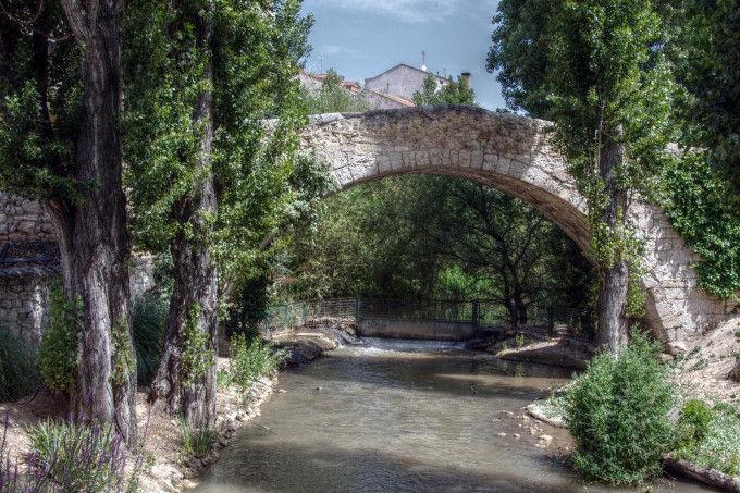 Puente medieval de las Tenerías. Aranda de Duero