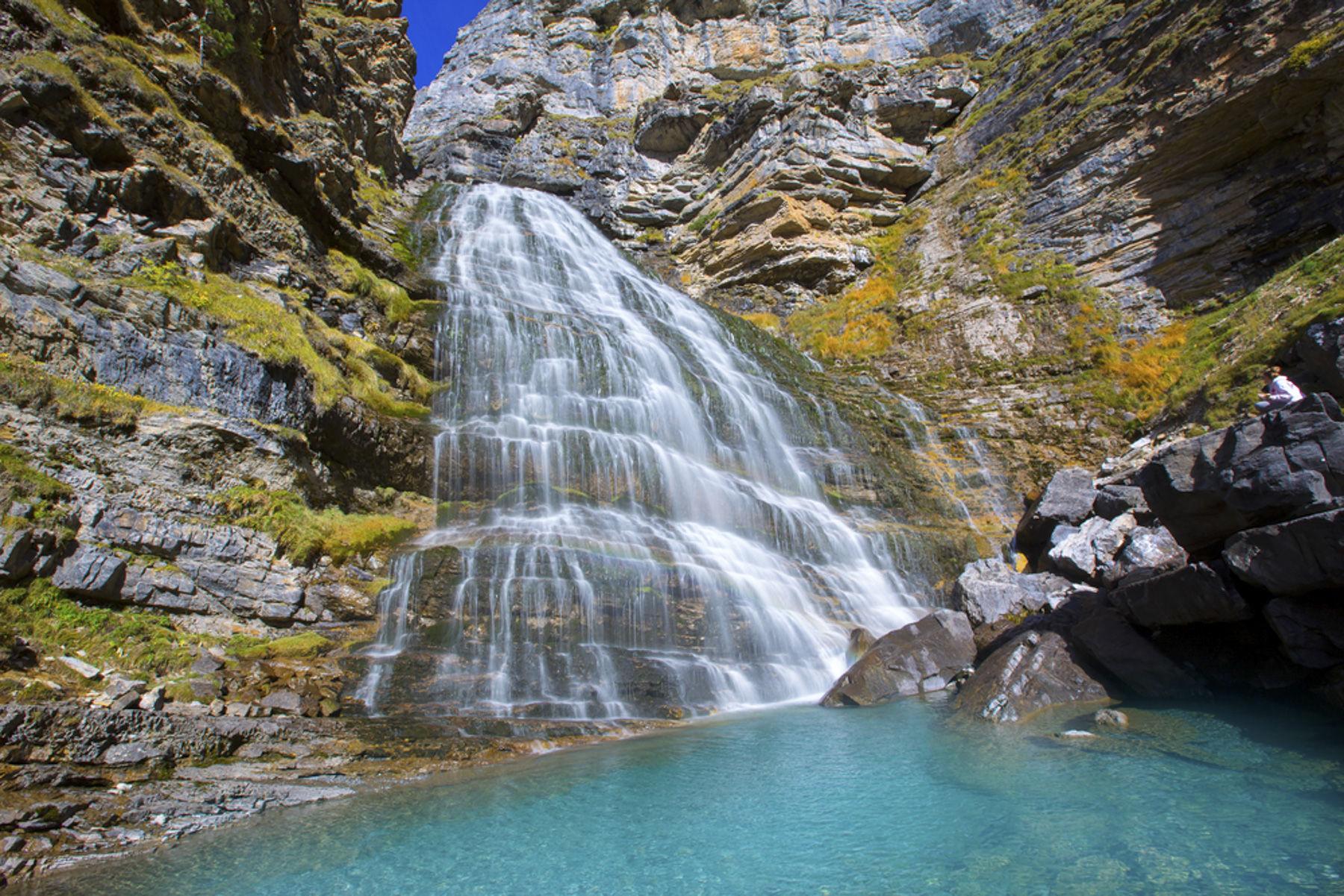 Resultado de imagen de cascadas valle de ordesa