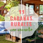 ¡Menos es más! 11 cabañas rurales con encanto