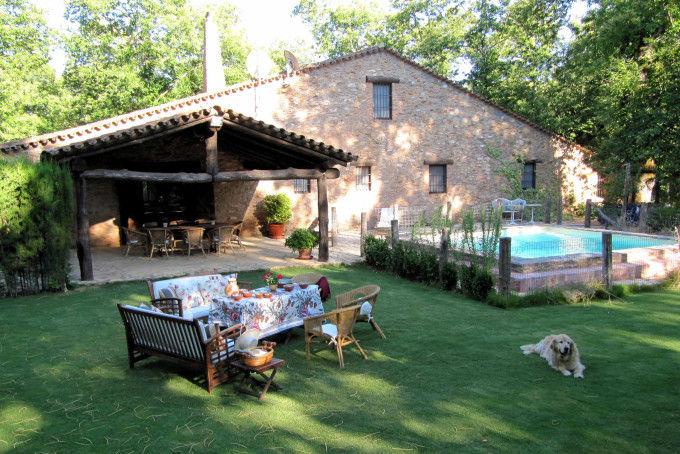 Las 10 casas rurales con m s y mejores opiniones de los for Hoteles rurales en extremadura con piscina