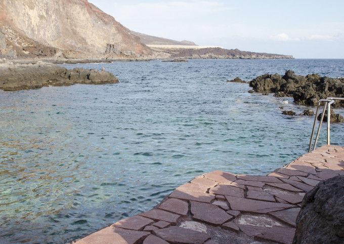 Playa de Tacoron en El Hierro