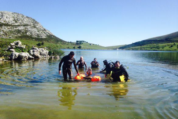 La Virgen que emerge del lago cada año en los Picos de Europa