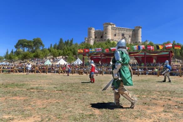 El II Torneo de Combate Medieval en el Castillo de Belmonte