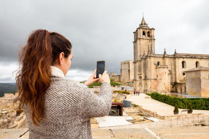 Iglesia de la Fortaleza de la Mota en Alcalá la Real. Fuente: Víctor Gómez - Machbel