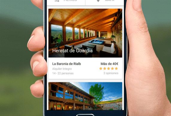 ¡Ya tenemos app de viajeros de turismo rural!