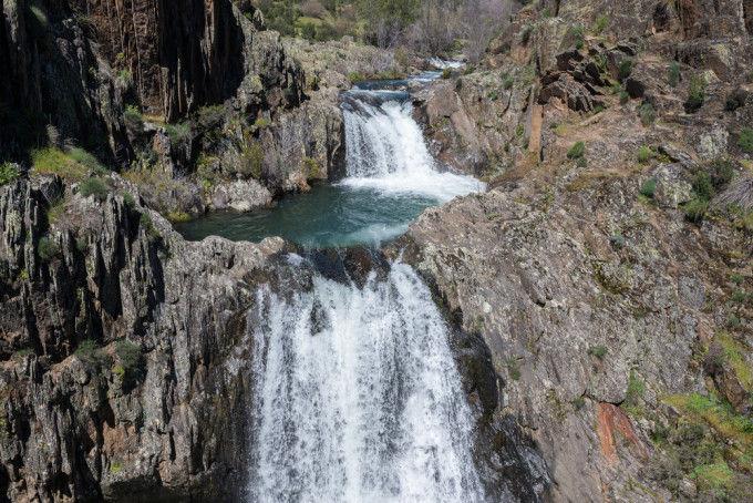 Aljibe waterfall, Guadalajara
