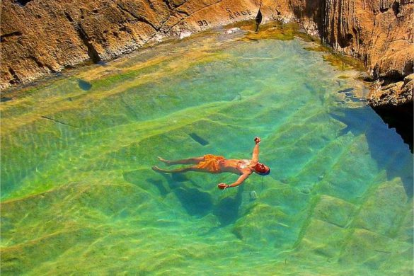 Atlantis, la cantera de Ibiza convertida en una cala legendaria
