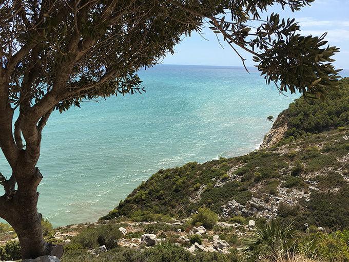 La Sierra de Irta y el Mediterráneo