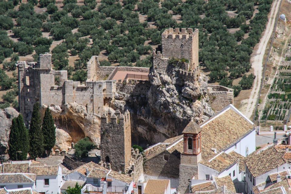 Castillo Zuheros, Córdoba