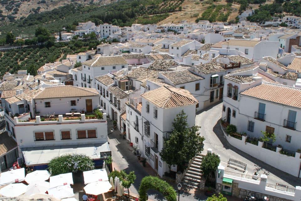 Vista desde el castillo de Zuheros, Córdoba
