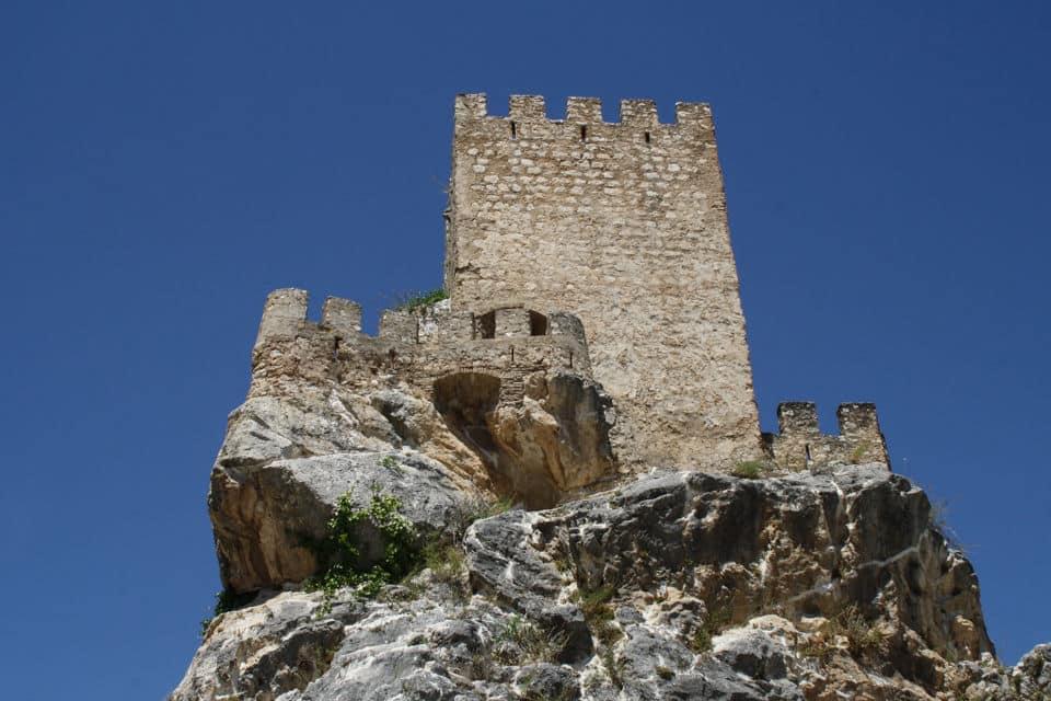 Torre del castillo de Zuheros, Córdoba