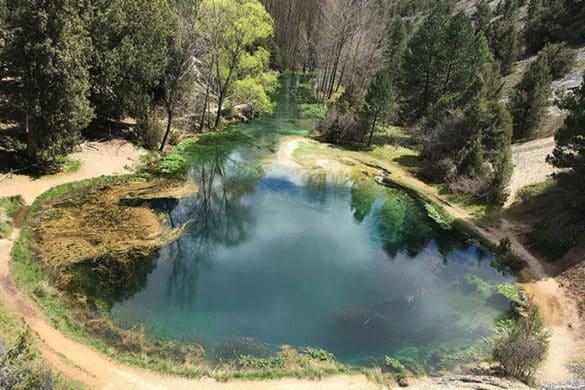 La Fuentona, un oasis natural de Soria