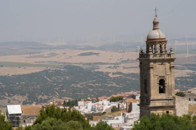 Vistas desde el Castillo de Medina Sidonia