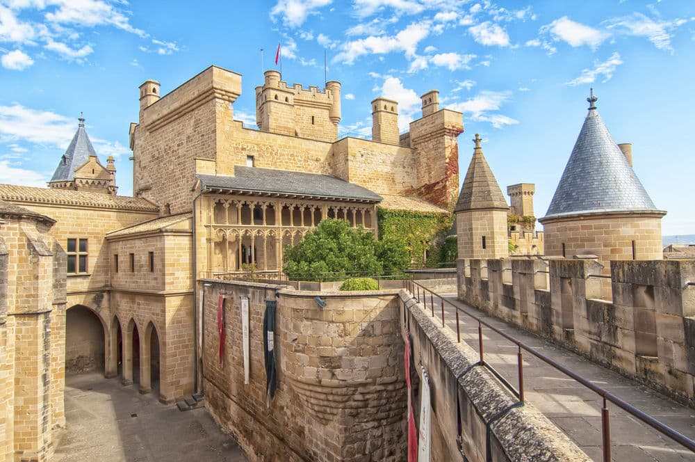 El palacio real de Olite, el capricho de lujo de Navarra