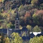 Iglesia del pueblo de Arties en el Valle de Arán. Fuente: Jordi Canal-Soler