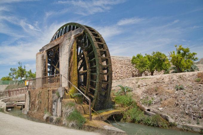 Ruta de las Norias. Fuente: Sergio Gonzalez. Murcia Turística