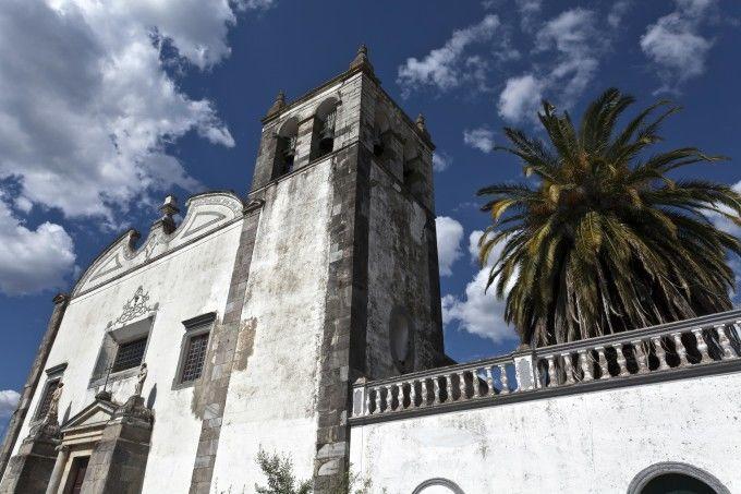 Iglesia de Santa María Church en Serpa
