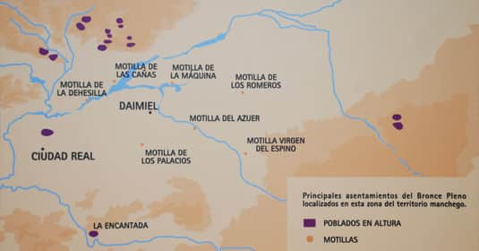 Mapa Motilla del Azuer