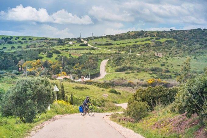 Ruta en bici por el Algarve