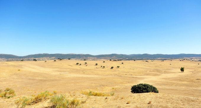 El Valle de Alcudia en verano, Ciudad Real, España